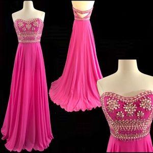 Rachel Allan Exclusive Designer Dress NWT